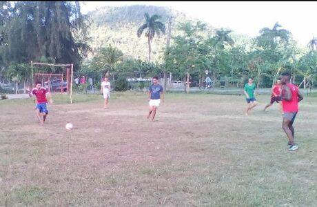 Copa de fútbol 26 goles de victorias, en Baracoa Foto: Cortesía del corresponsal Yoiser Cobas Camejo