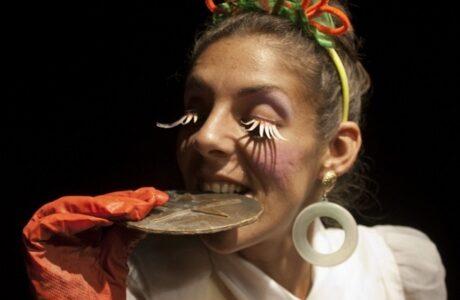 Aliexa Argote Laurencio, actriz del grupo Guiñol Guantánamo. Foto: Venceremos