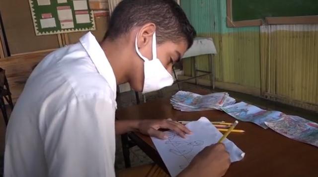 Desde Baracoa: Brayan y la pasión por las artes plásticas