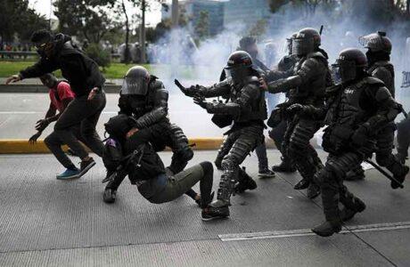 Colombia: Protestas contra la barbarie