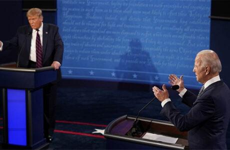 Debate presidencial en EEUU, una pelea a gritos que Trump convirtió en un espectáculo (fallido) sobre sí mismo