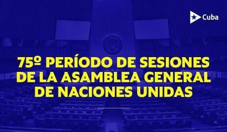 Canciller cubano intervendrá en la Reunión de Alto nivel de la Asamblea General