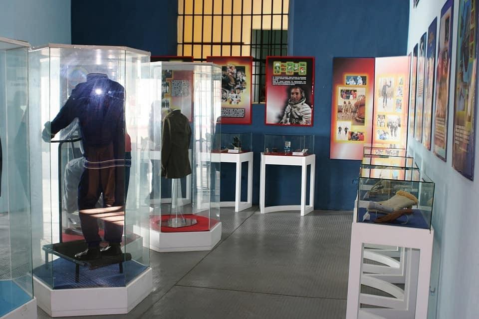 Sala de la Cosmonáutica del Museo Provincial de Guantánamo