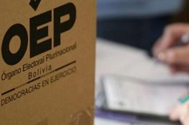Observadores internacionales informarán sobre elecciones en Bolivia