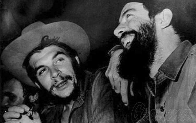 Ernesto Che Guevara y Camilo Cienfuegos: dos hombres de talla universal