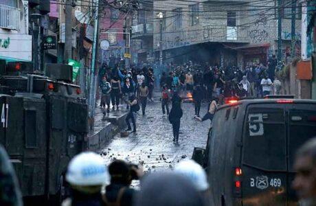 Manifestantes conmemoran estallido social en ciudades de Chile