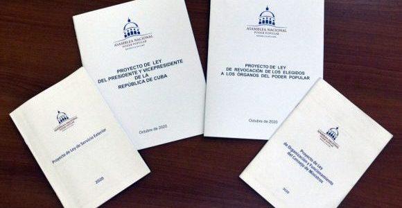 Disponibles proyectos de leyes que serán presentados a la Asamblea Nacional