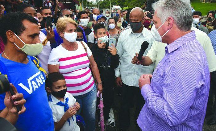 Díaz-Canel en Matanzas: Buscar alternativas dentro de nosotros mismos para seguir creciendo