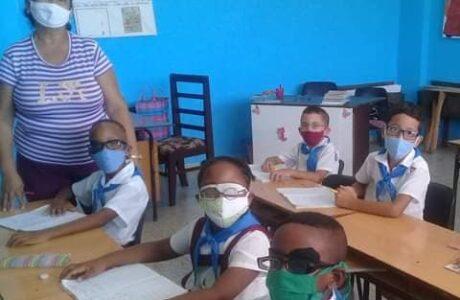 Alumnos de la escuela especial 14 de Junio en Guantánamo sufren de las afectaciones del bloqueo de los Estados Unidos contra Cuba