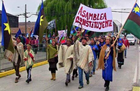 Indígenas de Chile insisten en participación en proceso constituyente