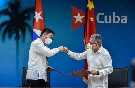 Agradece presidente de Cuba solidaridad de pueblo y Gobierno chinos