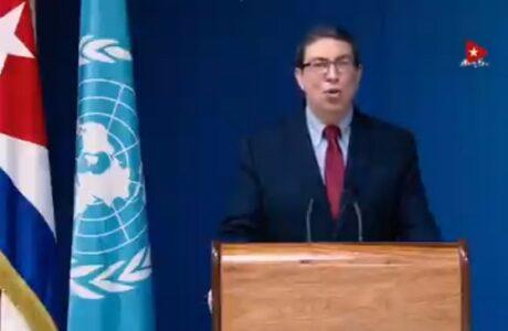 Ratifica canciller cubano compromiso de la isla con los derechos humanos