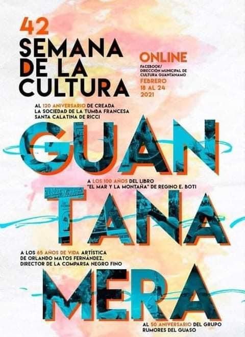 Semana de la Cultura Guantanamera migra al ciberespacio