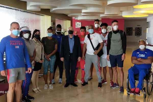 Paratletas cubanos intensifican trabajo en Dubái
