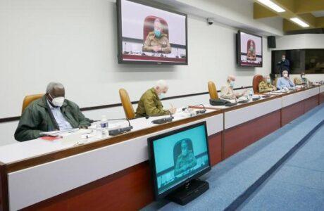 Efectuada reunión del Buró Político