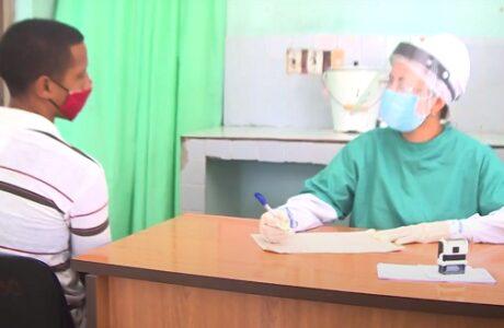 Evalúan situación sanitaria en San Antonio del Sur