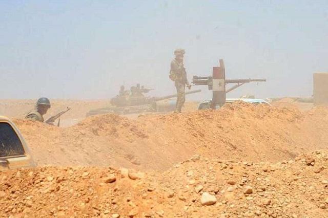 Ejército sirio elimina a terroristas del Daesh en el desierto