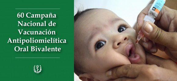 Más de 24 niños guantanameros serán inmunizados contra la polio