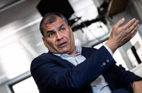 Denuncia Correa que el CNE manipula los votos para beneficiar a Pérez sobre Lasso