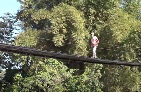 Repuesto puente entre El Blanquillo y Baracoa