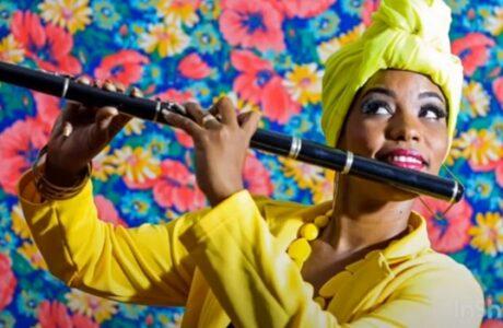 Gretel Pozo, joven flautista guantanamera