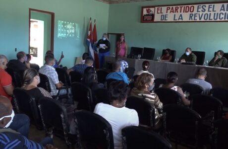 Efectúan pleno de la CTC en Baracoa