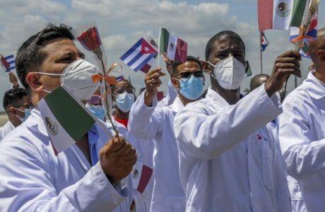 Mensaje de amor y vida de Cuba en México