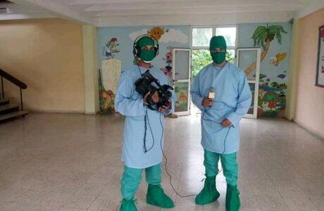 A debate: La prensa guantanamera frente a la Covid