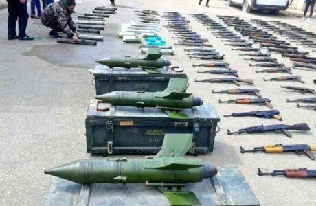 Incautan armas estadounidenses en sede terrorista en Siria