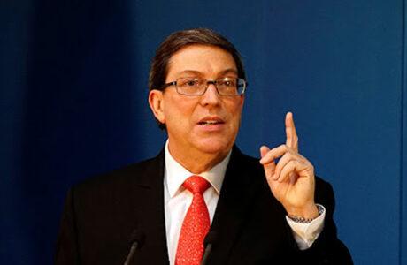Canciller cubano rechaza declaraciones de funcionario de EEUU sobre Cuba