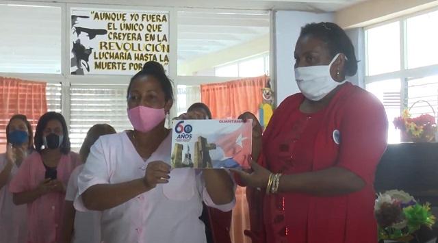 Reconoce FMC en Guantánamo a colectivo de círculo infantil Flor del Caribe