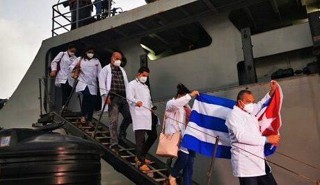 Cuba envía ayuda humanitaria a San Vicente y las Granadinas