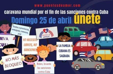 Jornada dominical de II Caravana Mundial contra el Bloqueo