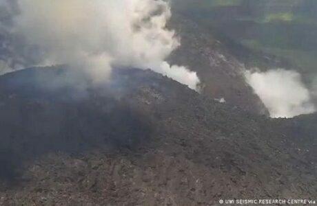 Ofrece Díaz-Canel solidaridad a San Vicente y las Granadinas tras erupción de volcán