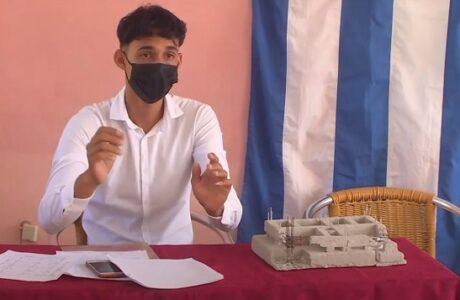 Nueva graduación de técnicos en Construcción Civil, Forestal, Informática y Electricidad en el municipio de San Antonio del Sur, Guantánamo
