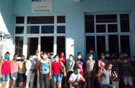 Entusiasmo entre trabajadores de la ONEI en Guantánamo por el 1 de Mayo