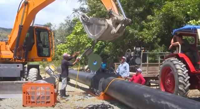 San Antonio del Sur: rehabilitación de redes hidráulicas para impulsar la producción de alimentos