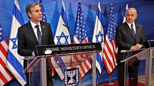 """Netanyahu tras su encuentro con Blinken: """"La respuesta de Israel a un ataque de Hamás sería muy poderosa"""""""