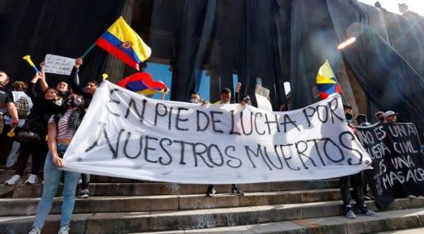 Esmad reprime nuevas manifestaciones pacíficas en Colombia