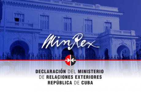 Minrex: Cuba rechaza calumnias de EEUU sobre cooperación contra el terrorismo