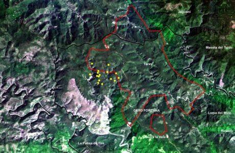 Imágenes satelitales arrojan datos sobre daños de incendio en el Parque Nacional Alejandro de Humboldt