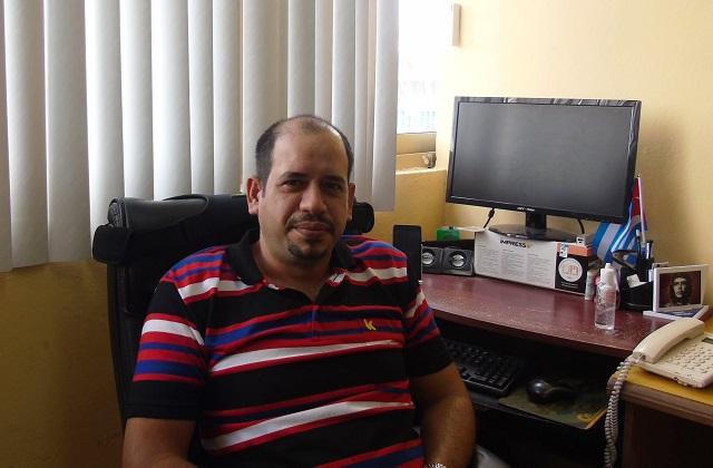 Ignacio Cuzcó Bazzi, Coordinador de programas y objetivos del Gobierno provincial del Poder Popular en Guantánamo.