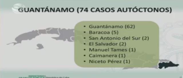 Guantánamo con 74 nuevos casos de Covid-19, tres pacientes en estado crítico y cuatro graves