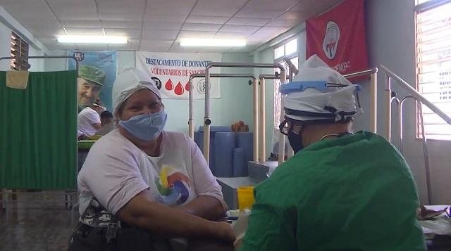 Destacados cederistas sanantonienses por aporte al programa de donaciones de sangre