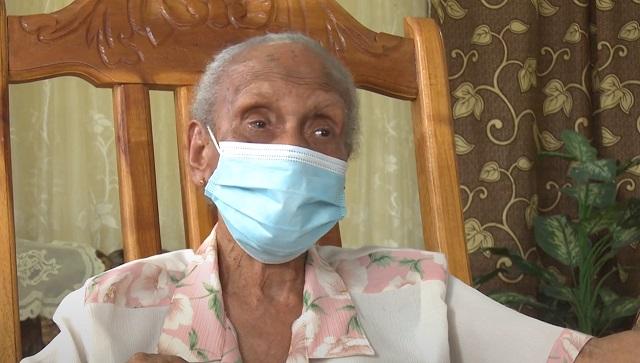 María Sosa, longeva guantanamera de 102 años