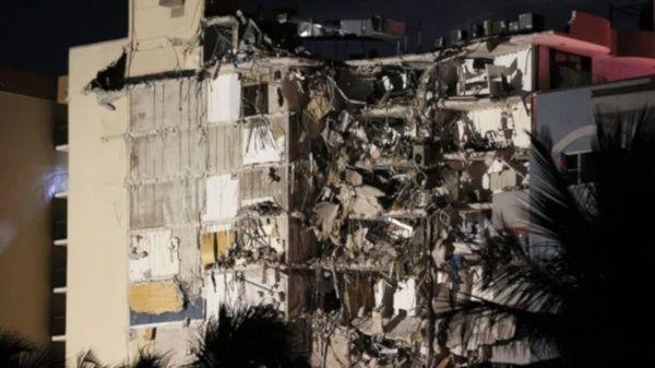 Se eleva a 10 los muertos del derrumbe del edificio en Miami