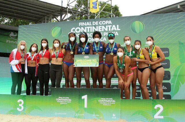 Clasifica Cuba para Tokio con oro de duplas (f) de voleibol de playa