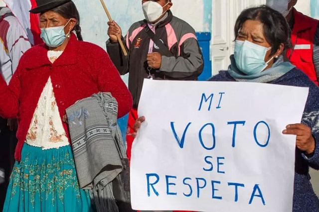 Nuevos desmentidos a alegatos derechistas de fraude en Perú