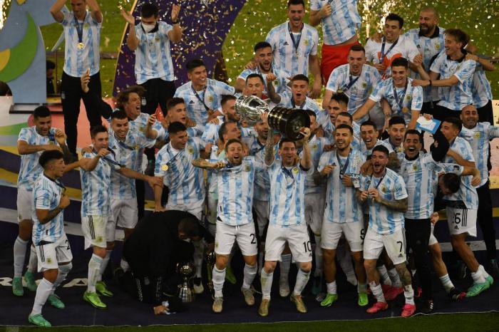 Final Copa América 2021: Argentina reina