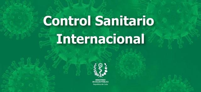 Nuevas medidas de Control Sanitario Internacional